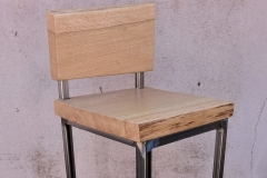 Sedie e sgabelli fem handmade wood